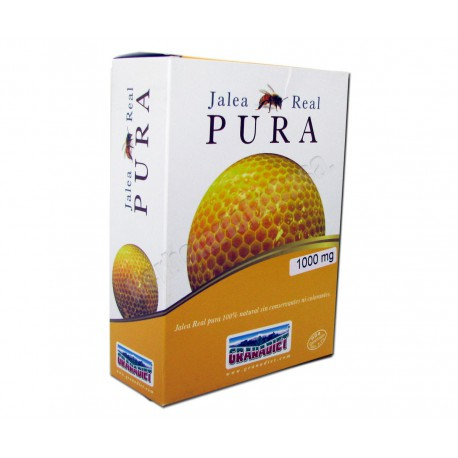 Jalea Real Pura 100% natural 1000mg - 20 ampollas - Granadiet