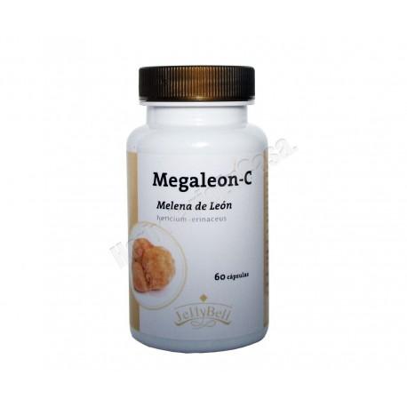 Melena de León (Hericium erinaceus) Megaleón C 60 cápsulas - Jellybell