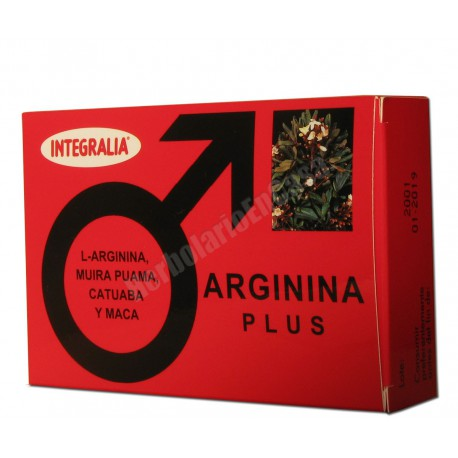 Arginina plus (L- ARGININA, MUIRA PUAMA, CATUABA Y MACA) - Integralia