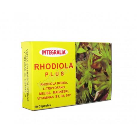 Rhodiola Plus (rhodiola rosea, triptofano, melisa, magnesio y vit. B1, B6, B12)