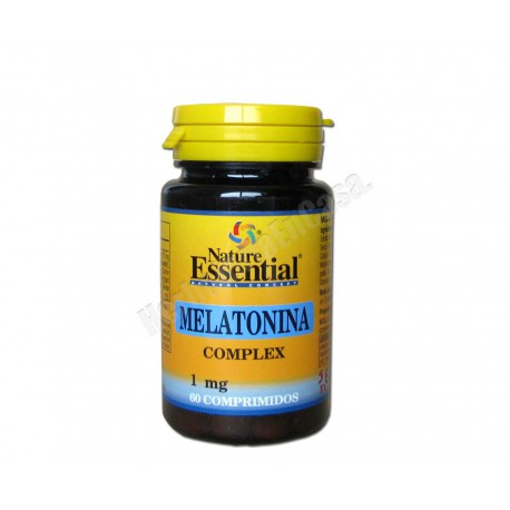 Melatonina complex 1mg 60 comprimidos - Nature Essential