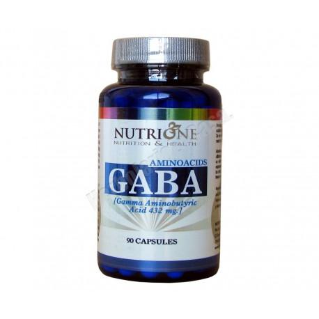 Gaba (acido gamma aminobutirico) 500mg 90 cápsulas vegetales - Nutrione
