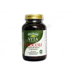 VITA Brócoli 120 cápsulas vegetales. Agricultura Ecológica. Naturgreen
