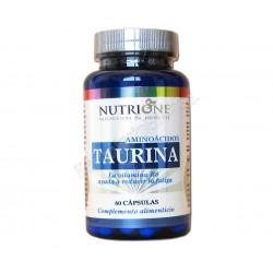 Taurina 500mg con Vitamina B6. 60 cápsulas - Nutrione