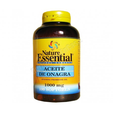 Aceite de Onagra 1000mg 100 perlas - Nature Essential