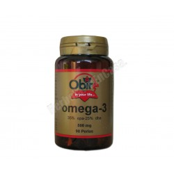 Omega 3 (35% epa - 25% dha) 500mg 90 perlas. Obire