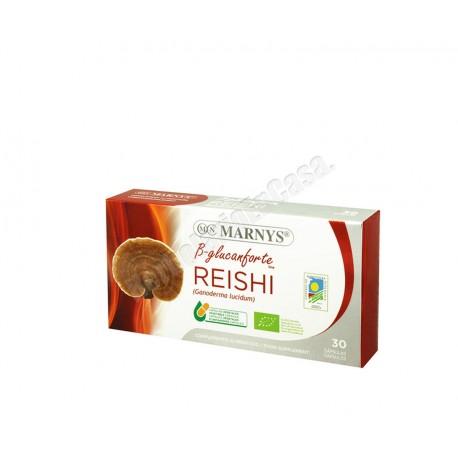 Reishi (ganoderma lucidum) Bio 30 cápsulas vegetales - Marnys