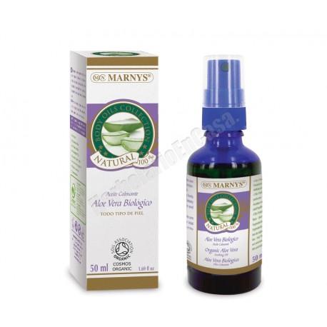 Aceite Aloe Vera Biológico 50 ml. Marnys