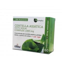 Centella asiática (gotu kola) complex 1000mg. Nature Essential