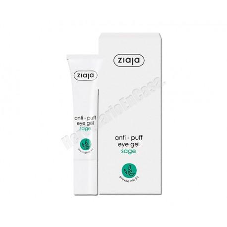 Contorno de ojos con extracto de Salvia 15ml. Anti bolsas. Ziaja