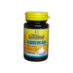 Aceite de Ajo 1000mg 60 perlas. Nature Essential