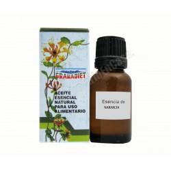 Mandarina - Aceite esencial natural 17ml . Apto para uso alimentario