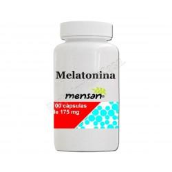 Melatonina 100 cápsulas de 175mg. Mensan