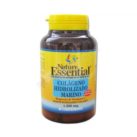 Colageno Hidrolizado Marino, Magnesio, Vitamina C y Ácido Hialurónico. Nature Essential
