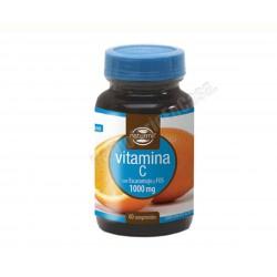 Vitamina C 1000mg con Escaramujo y Fructooligosacáridos 60 comprimidos. Dietmed Naturmil