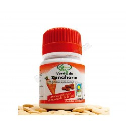 Verde de Zanahoria 100 comprimidos . Agricultura ecológica. Soria Natural