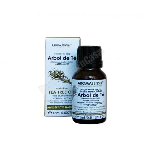 Aceite esencial de Árbol del Té 15ml. Aromasensia