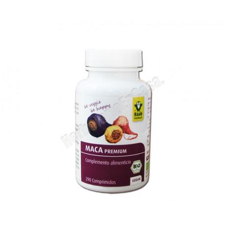 Maca Bio Premium 290 comprimidos de 310 mg. Raab