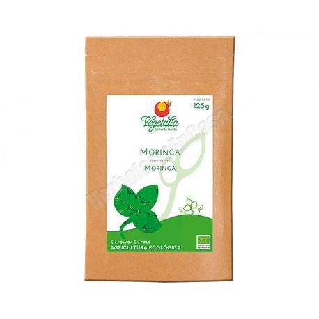 Moringa en polvo de Agricultura Ecológica 125 gramos. Vegetalia