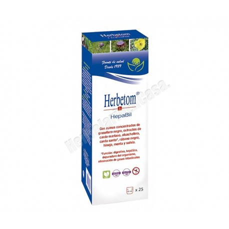 Herbetom 1 Hepabil 250ml. Bioserum
