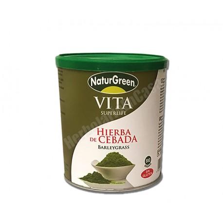 Hierba de cebada Bio en polvo 200 gramos - Naturgreen
