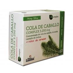 Cola de Caballo complex 3250mg con Té verde, Castaño de indias y rabos de cereza