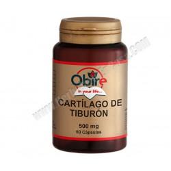 Cartilago De Tiburon 500mg 60 capsulas - Obire