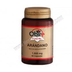 Arándano 1000mg 60 cápsulas - rico en bioflavonoides. Obire