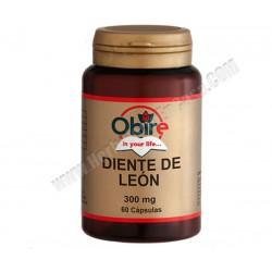 Diente de León 300 mg 60 cápsulas. Obire