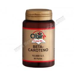 Betacaroteno 6.6MG . 90 perlas. Obire