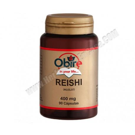 Reishi - 400 mg - 90 cápsulas.