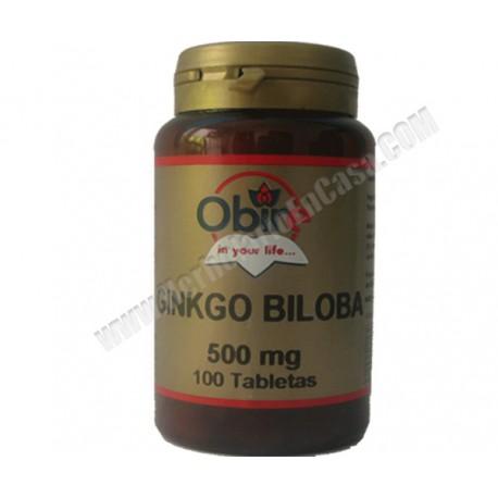 Ginkgo Biloba - 500mg -100 comprimidos
