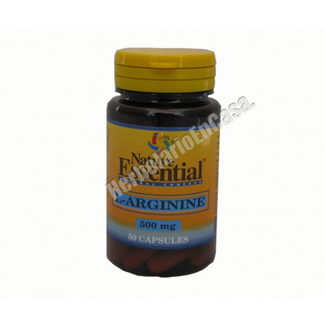 L-arginina 500mg 50 capsulas Nature Essential