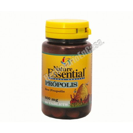 Propolis de Abeja (propoleo, vitamina C y equinacea) 800mg Nature Essential