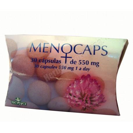 Menocaps 30 cápsulas (1 al día) 550mg - Sotya