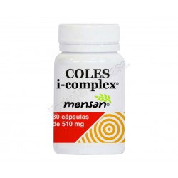 Coles i-complex (levadura arroz rojo, policosanol, cromo) - Mensan