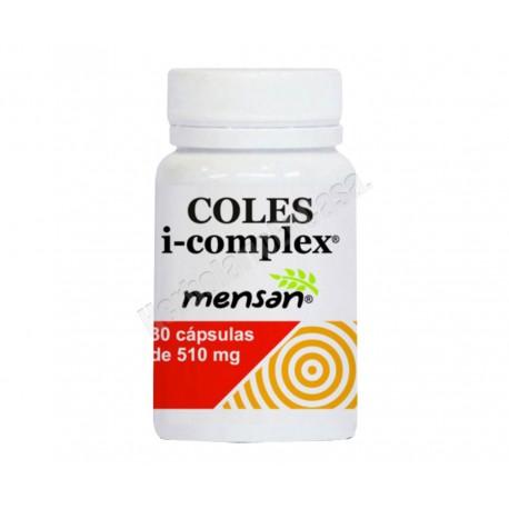 Coles i-complex (levadura arroz rojo, policosanol, cromo picolinato)