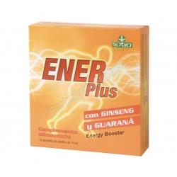 ENERPLUS 10 ampollas - Ginseng + Guarana + Eleuterococo. Sotya