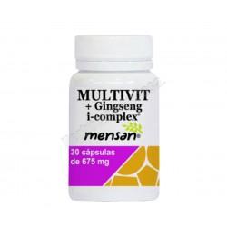 Multivitaminas + ginseng i-complex - 30 cápsulas vegetales