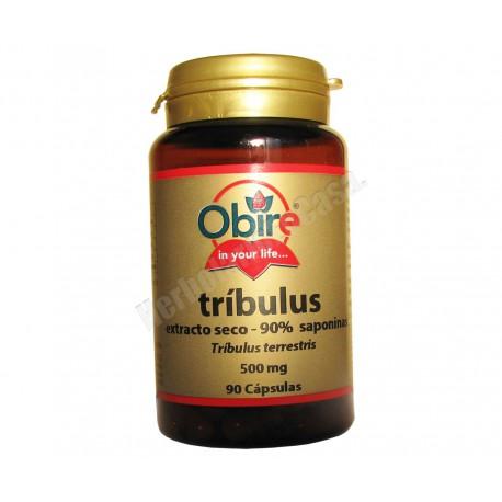 Tribulus terrestris 90% saponinas 90 cápsulas - Obire