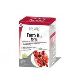 Ferro B12 forte (hierro y vitaminas del grupo B) 45 compr. Physalis