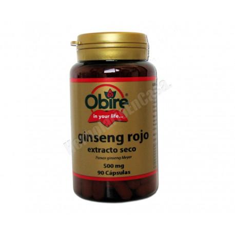 Ginseng Rojo (panax ginseng meyer) - 90 cápsulas. Obire