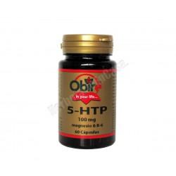 Triptofano (5htp 100mg) + magnesio + B6 - 60 cápsulas - Obire