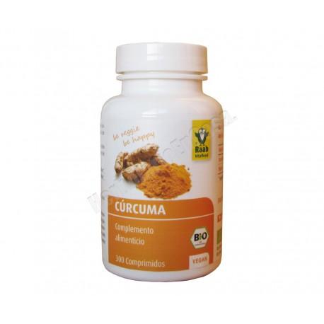 Bio Cúrcuma 300 comprimidos de 300 mg - Raab
