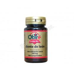 Diente de León con extracto seco 500mg 100 comprimidos - Obire