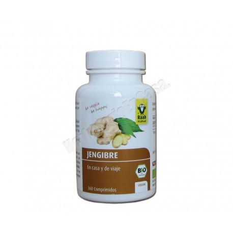 Jengibre Bio 360 comprimidos de 250mg - Raab