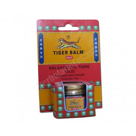 Bálsamo del Tigre Rojo 19 gramos. Producto para masaje y dolores