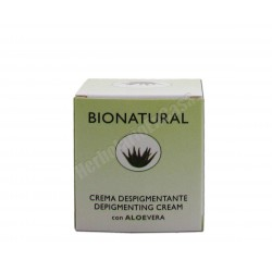Crema despigmentante con Aloe Vera 50ml - Bionatural