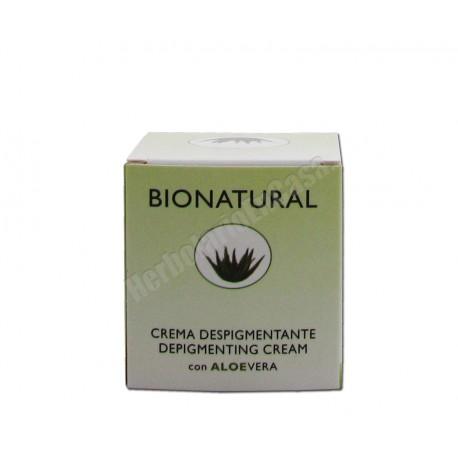 Crema despigmentante con Aloe Vera 50ml - Bionatural
