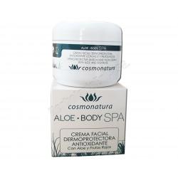 Crema facial dermoprotectora antioxidante con Aloe y Frutos Rojos 100ml